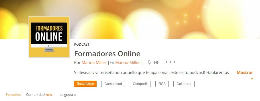 Podcast Formadores Online