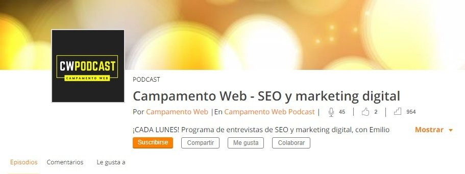 Podcast Campamento Web