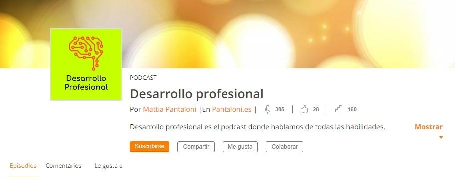 podcast Desarrollo Profesional