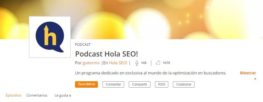 podcast Hola SEO