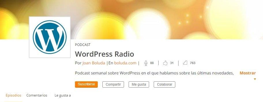 podcast WordPress Radio