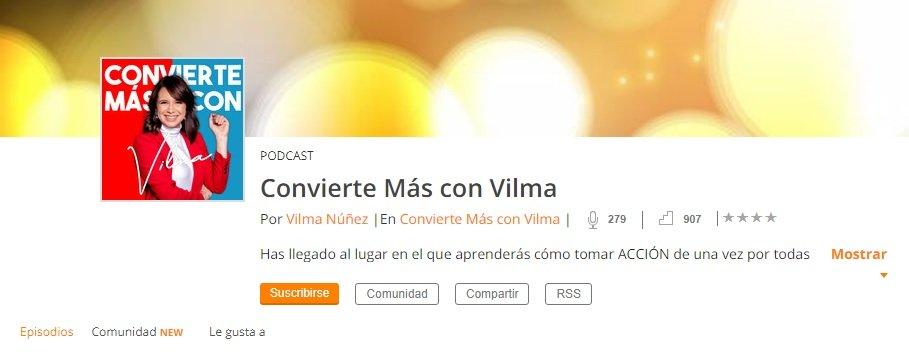 Convierte Más con Vilma