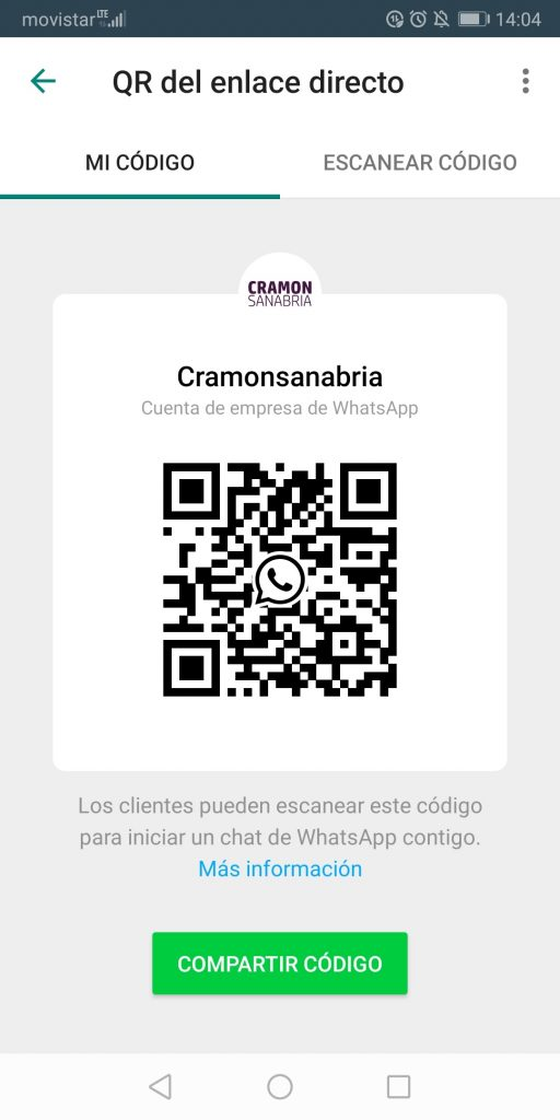 QR WhatsApp Business